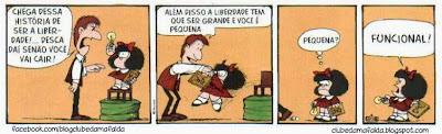 Clube da Mafalda:  Tirinha 714
