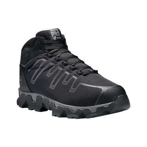 timberland pro men's powertrain sport mid alloy toe eh industrial & construction  shoe, black ripstop nylon, 13 m us - Walmart.com - Walmart.com