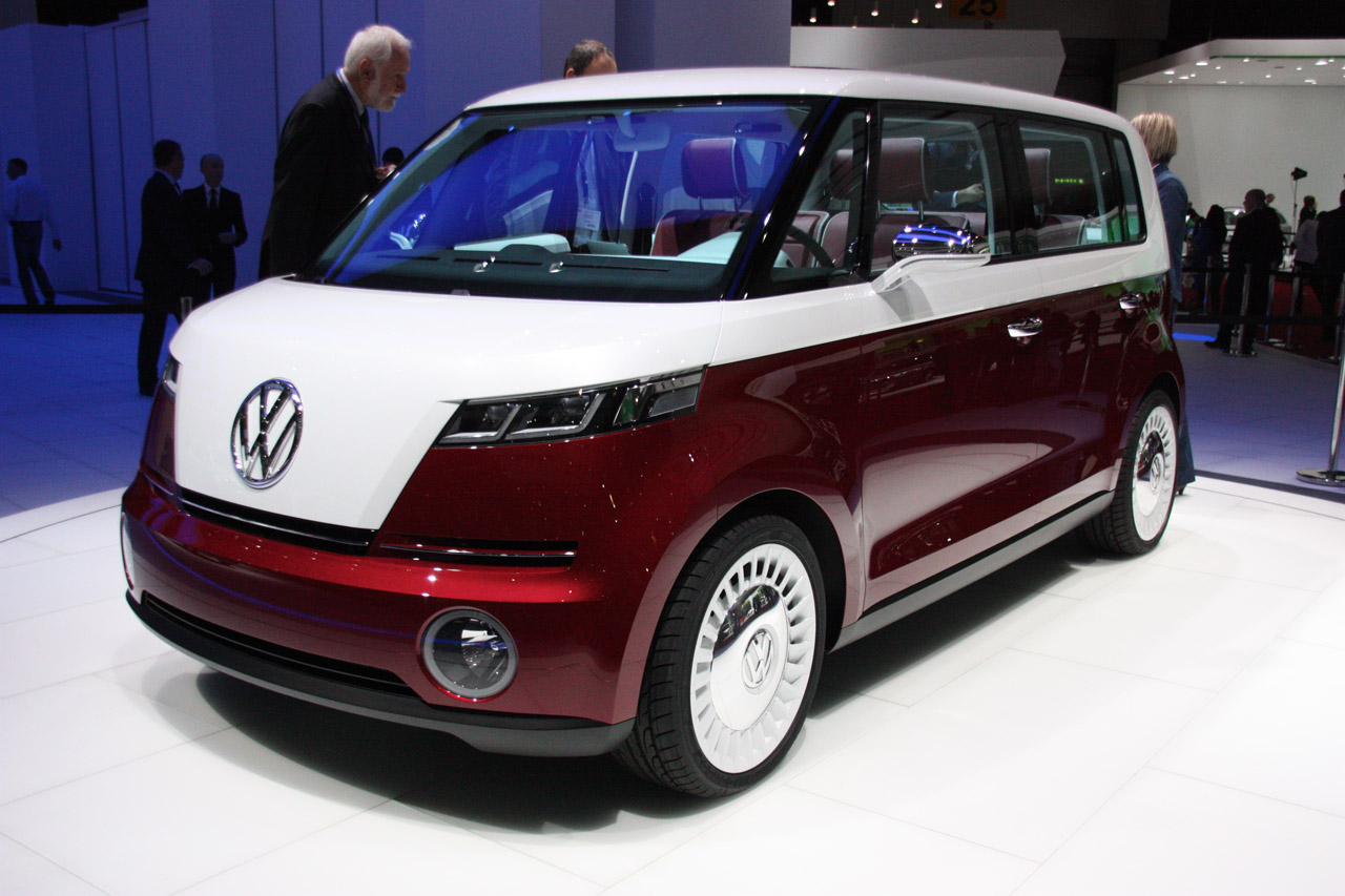 lea michele volkswagen bulli concept geneva motor show 2011 vw microbus first live photos with. Black Bedroom Furniture Sets. Home Design Ideas