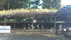 多摩サイのすぐ近くらしく自転車置き場もある。@@@512@@@288
