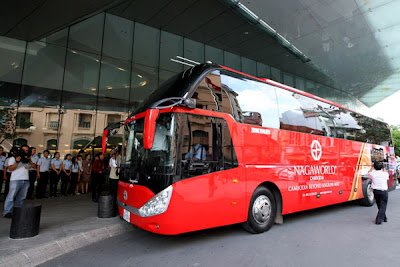 Ho Chi Minh City - Phnom Penh luxury bus services Cambodia Tours