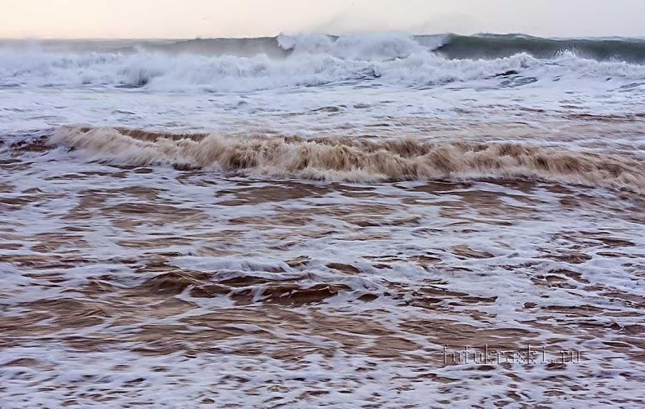 Анапа, море, шторм