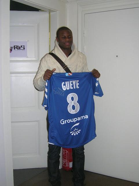 Gueye lors de sa venue dans l'émission en 2010
