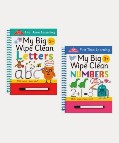 wipe clean practice books