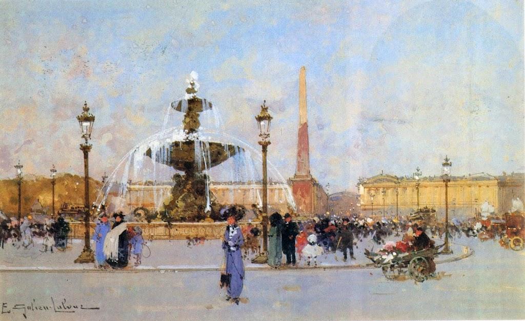 Eugène Galien-Laloue - Place de la Concorde
