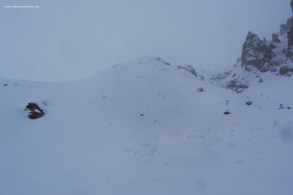 Avalanche Vanoise, secteur Grande Val, Montée au Refuge du Grand Plan - Crête en rive droite du ruisseau de la Planche - Photo 1