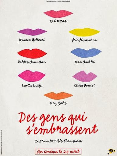 Μια Βραδιά στο Σαιν Τροπέ Des Gens qui S'embrassent Poster
