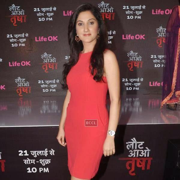 Adita Wahi during the launch of the TV serial Laut Aao Trisha, held at Westin Mumbai. (Pic: Viral Bhayani)