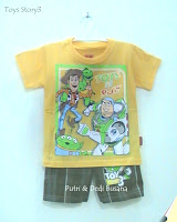 baju kartun toys story 3