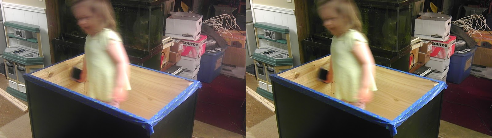 I made a toybox for the living room
