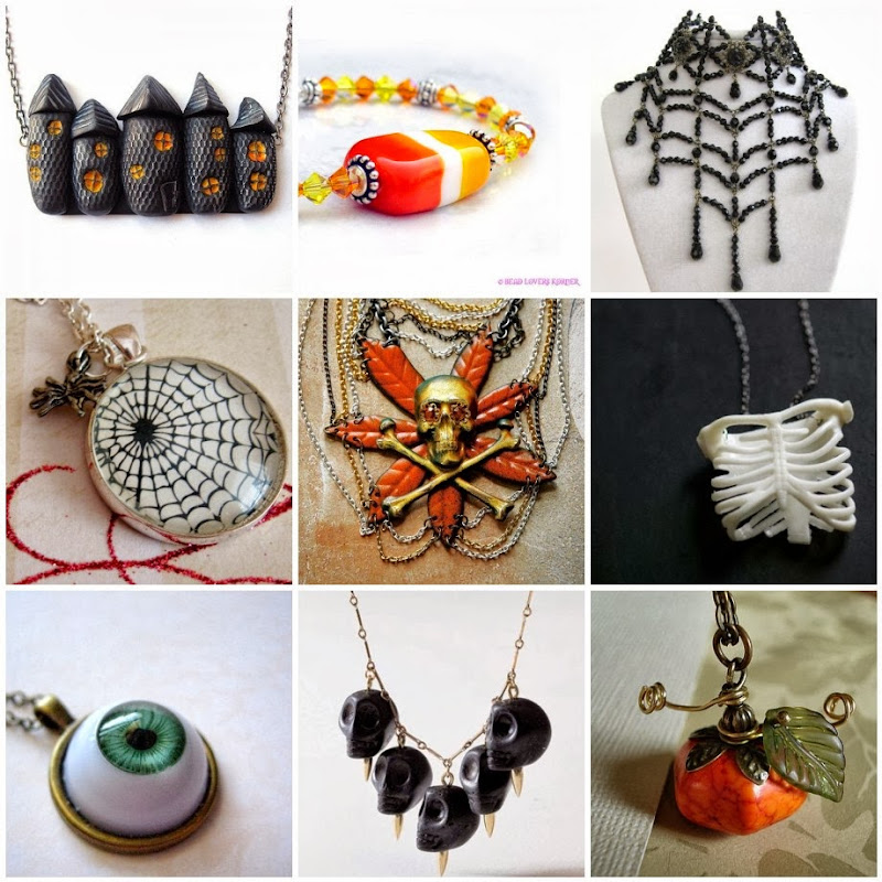 Halloween Inspired Jewelry Projects