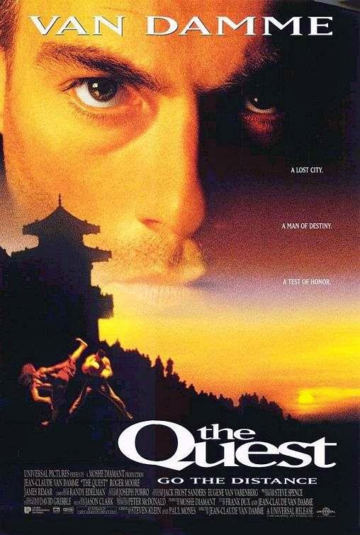 Poster Of The Quest (1996) Full Movie Hindi Dubbed Free Download Watch Online At Alldownloads4u.Com