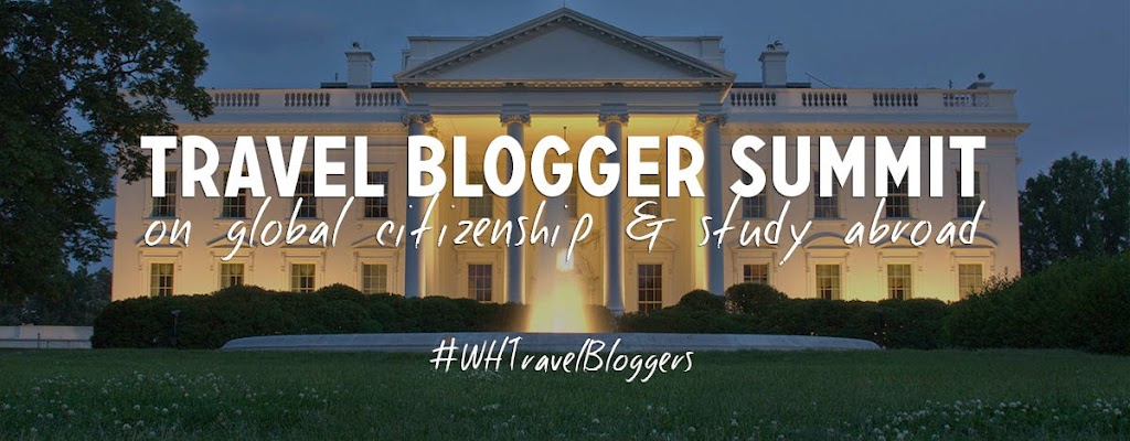 White House Summit on Study Abroad and Global Citizenship. #WHTravelBloggers #StudyAbroadBecause