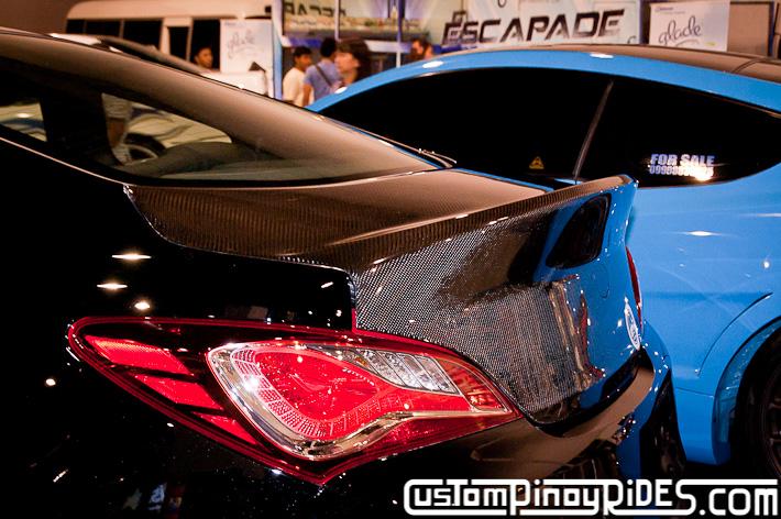 Hyundai Genesis Coupe Body Kit Designs by Atoy Customs 2012 Manila Auto Salon Custom Pinoy Rides pic32