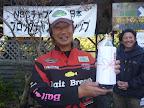 ブービーメーカー賞 千葉正博プロ 地元名産醤油贈呈 2012-11-26T03:09:34.000Z