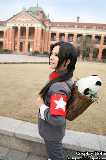 hetalia: axis powers cosplay - china