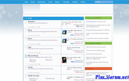 Skin Plusvn Blue ver 2.0 Plus.5Forum.net-demo1