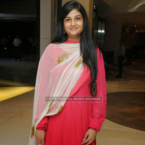 Anusha during an Iftaar party, hosted by The Times of India and The Park, Hyderabad.