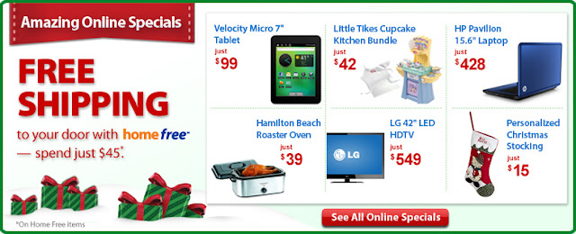 Wal-Mart Special Offer Sales Thanksgiving Day