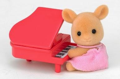 Đồ chơi Bé Nai và cây đàn Piano đáng yêu