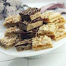 Toasted Macaroon Bars