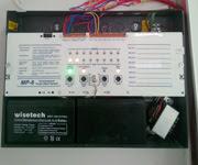 Yangın alarm sistemi panel iç bağlantısı