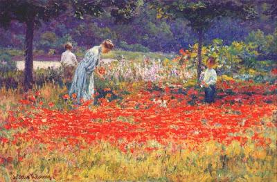 J. Ottis Adams - Poppy Garden