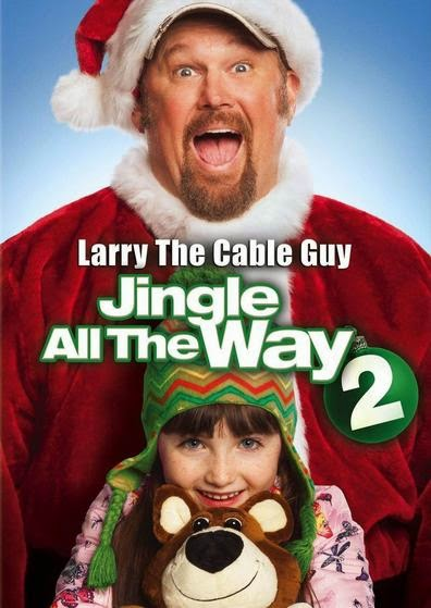 Poster Of English Movie Jingle All the Way 2 (2014) Free Download Full New Hollywood Movie Watch Online At Alldownloads4u.Com