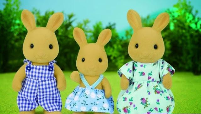 Đồ chơi Gia đình nhà Thỏ Nâu Ocher Rabbit Family dễ thương, giúp bé thêm năng động và thông minh hơn trong cuộc sống