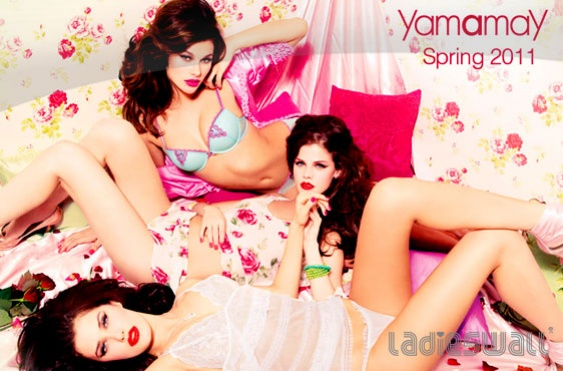 Yamamay S S 2011 – Δες την Νέα Indian Night Συλλογή (+The Video ... 87106ccc2e0
