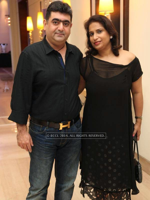 Sunil and Laveena at the RNGM golf event that was held at the Mysore Hall at the ITC Gardenia, Bangalore.