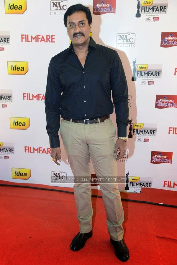 Sunil Varma at the 61st Idea Filmfare Awards South, held at Jawaharlal Nehru Stadium in Chennai, on July 12, 2014.