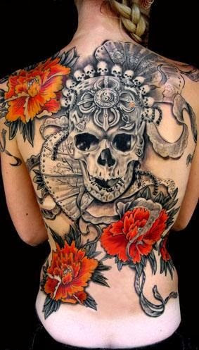 Red Flame Tattoos