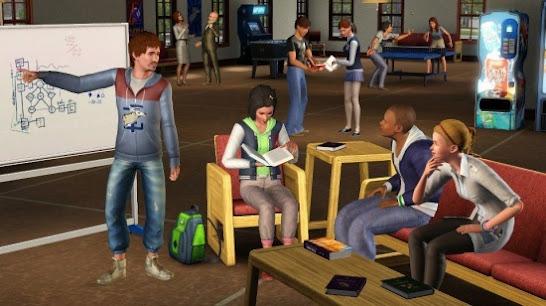 Симс 3 студенческая жизнь