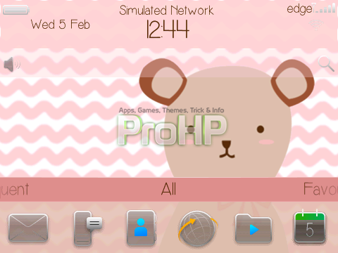 Bear Theme for BlackBerry - Preview 1