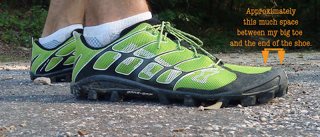 Inov-8 Bare-Grip 200 profile view