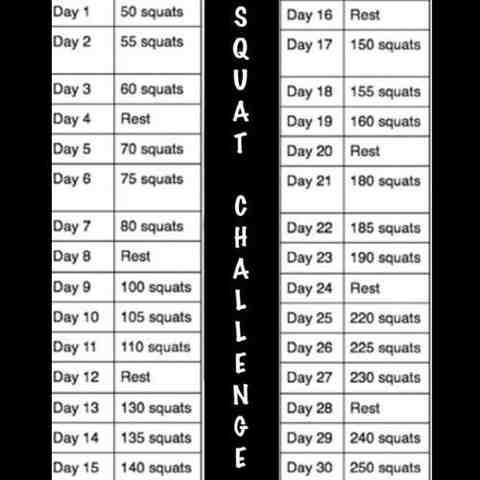 Alexa Jean: 30-Day Squat Challenge
