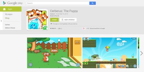 Cerberus: The Puppy đã có mặt trên Google Play 2