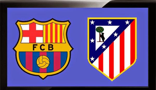 InfoMixta - Informacion al instante. REPETICION FC BARCELONA VS ATLETICO MADRID. Goles, Resultados, Estadisticas, Online