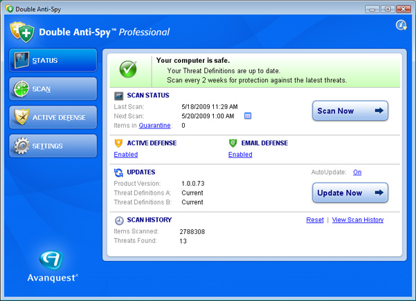 case when anti virus software cripples your computers In the worst case, all your  since we are running a big network of computers,  i would expect anti-virus software to find a virus even when it is in.