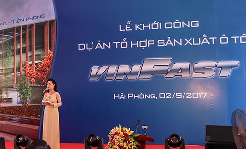 le khoi cong vinfast