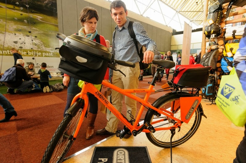 Data Fiets en Wandelbeurs in de Rai