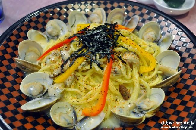 清閒焙可饗食堂白酒蛤蜊義大利麵