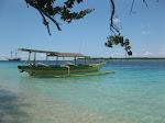 Gili Trawangan: plage est