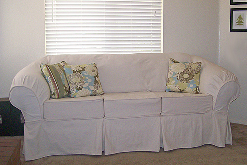 Day 1 Of Slipcover Week Beautiful White Inspiration