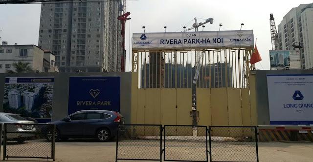 Tiến độ thi công chung cư Rivera Park Hà Nội