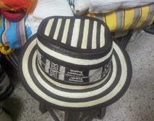 Sombrero Vueltiao Tipo Jorge Celedón Ref. 3