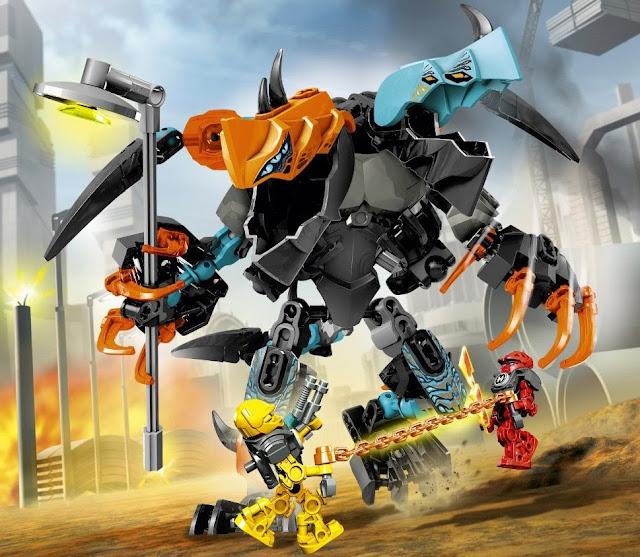 Lego Hero Factory 44021 Furno & Evo đối đầu quái vật hai đầu