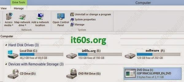 Thủ thuật mở file ISO trên windows 8 không cần phần mềm 5