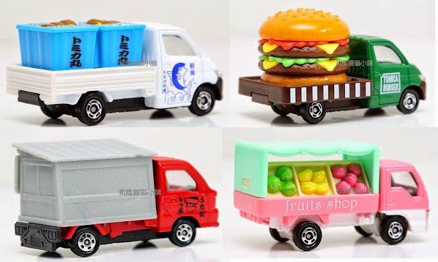 Bộ đồ chơi xe chở thực phẩm